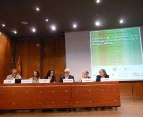 Presentació Plataforma per la Defensa de l'Atenció Pública en Salut Mental a Catalunya